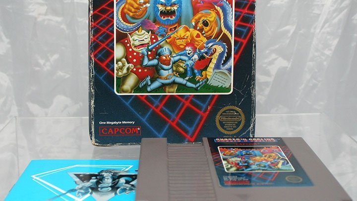 Ghosts 'N Goblins and the fine art of self-abuse