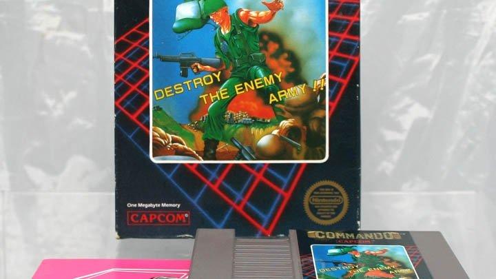 NES Works finally gets to Capcom's good stuff with Commando