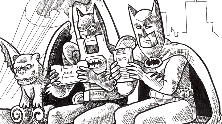 Retronauts Micro 66: Portable Batman gaming