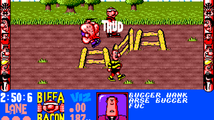 Viz: An incredibly rude officially released game from 25 years ago