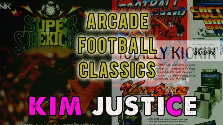 A video about football games in the arcade