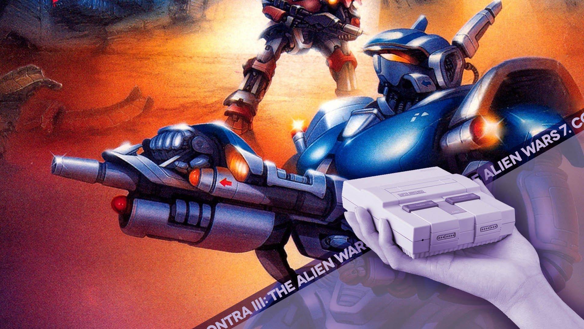 Super NES Mini Countdown: #7 | Contra III: The Alien Wars | Retronauts