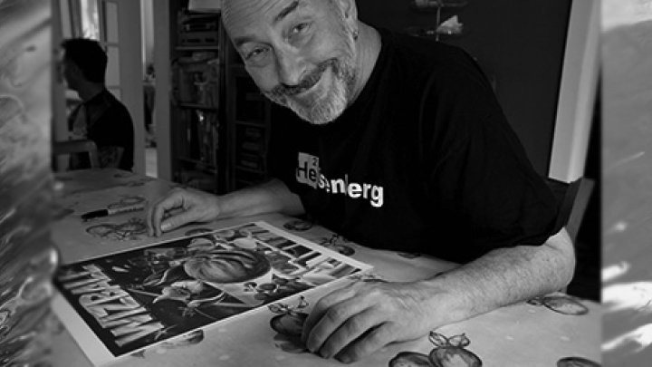 A tribute to Bob Wakelin, Ocean's legendary cover artist