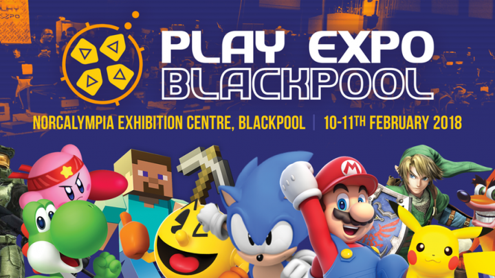 A trip to the PLAY Expo in Blackpool