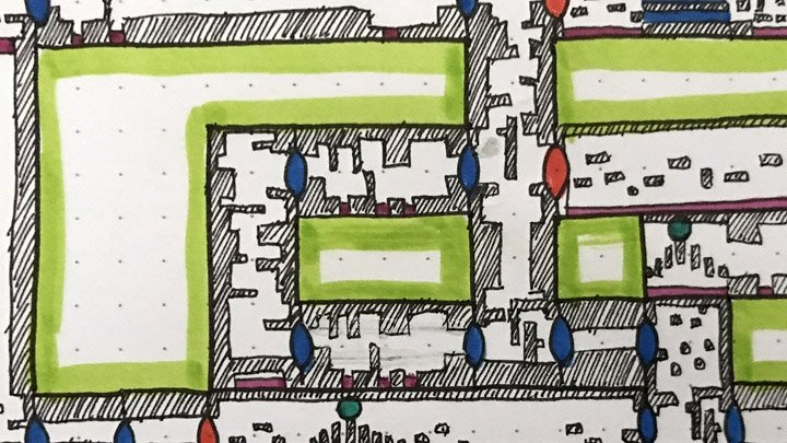 Never get lost again thanks to these hand-drawn game map posters