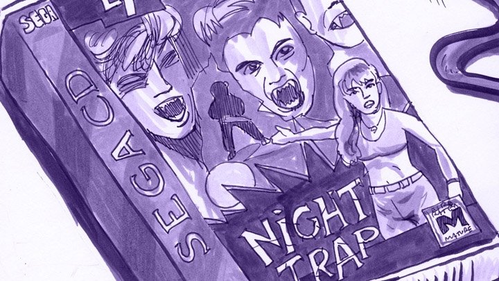 Retronauts Micro 86 gets caught in the Night Trap