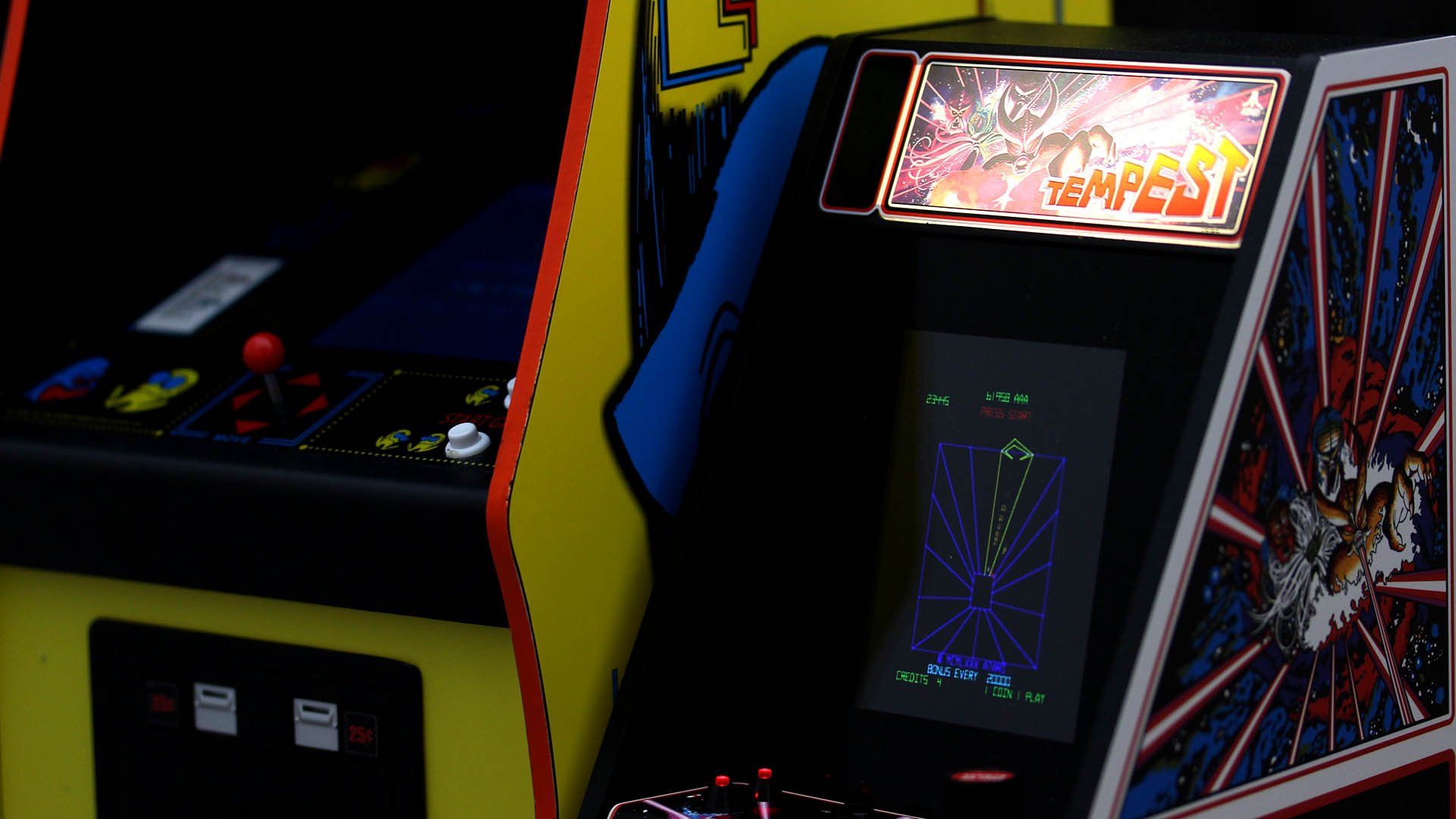 Modern mini-arcade cabs put a high-gloss twist on a classic concept