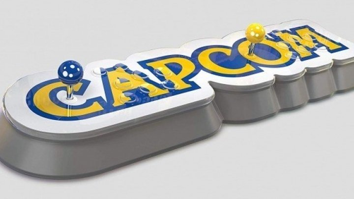 Capcom Home Arcade brings a big Capcom logo to your place of residence or domicile