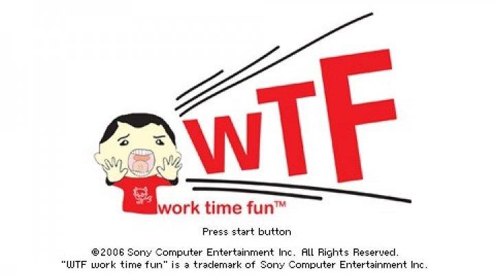 Re(?)Considered: WTF: Work Time Fun