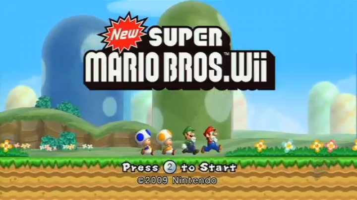 New Super Mario Bros. Wii is now Old Super Mario Bros. Wii