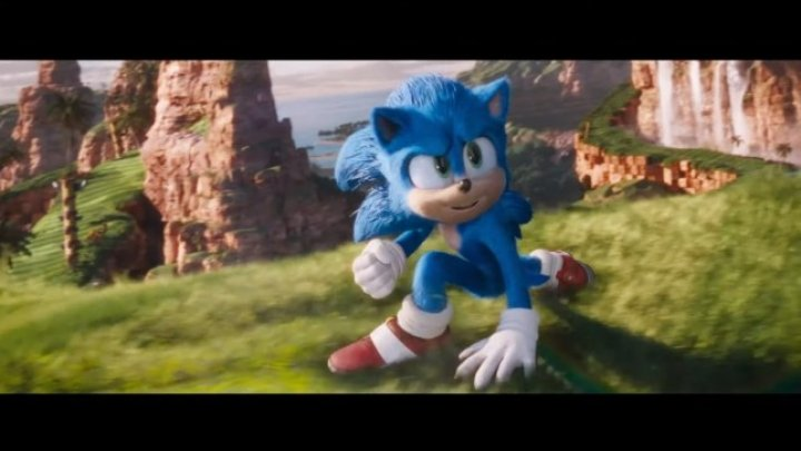 Sonic movie gets vaguely recognisable Sonic