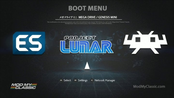 Maximise your Mega Drive Mini with Project Lunar