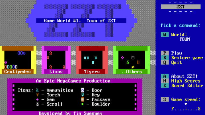 Re(?)Considered: ZZT