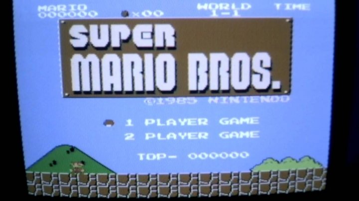 Super Mario Bros.: The blueprint