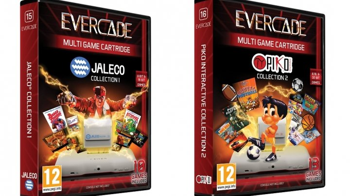 Jaleco and Piko Interactive collect more classics on Evercade