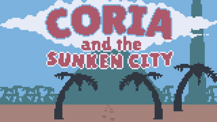 Coria and the Sunken City: the Game Boy will never die