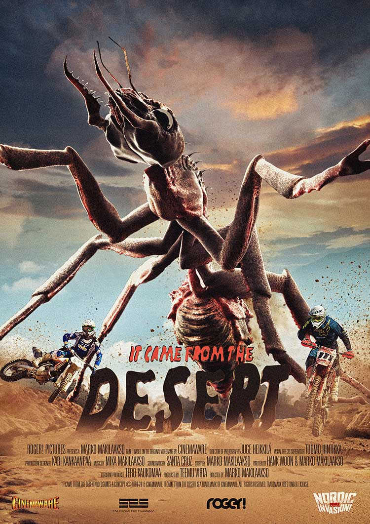 it came from the desert 2017 trailer